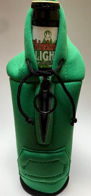 118 Green Koozies Hooded