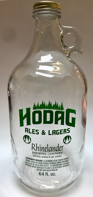 176 Clear Empty Growler