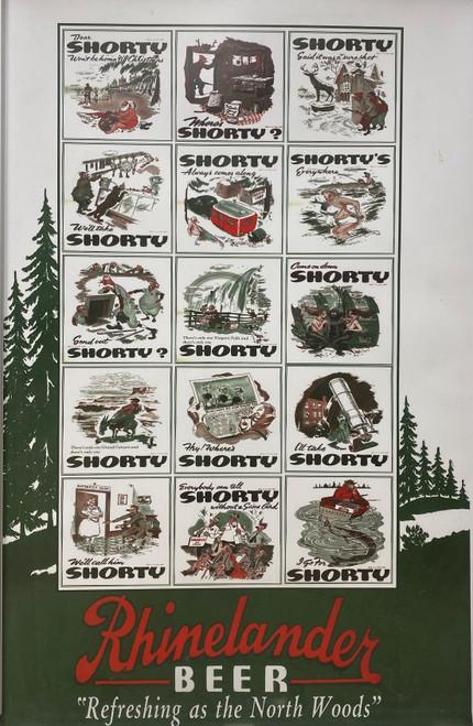 133 Shorty Cartoon Poster