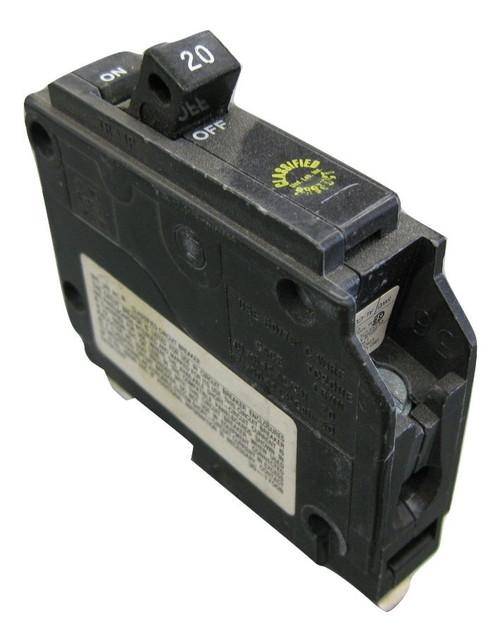 CUTLER HAMMER CHQ120 U 20A 120V 1P 10K USED