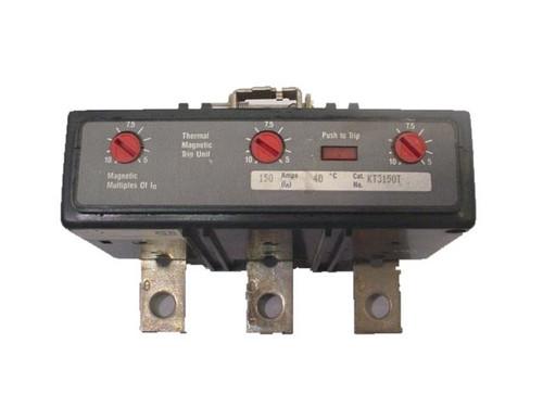 CUTTLER HAMMER KT3125T U 125A 480V 3P USED