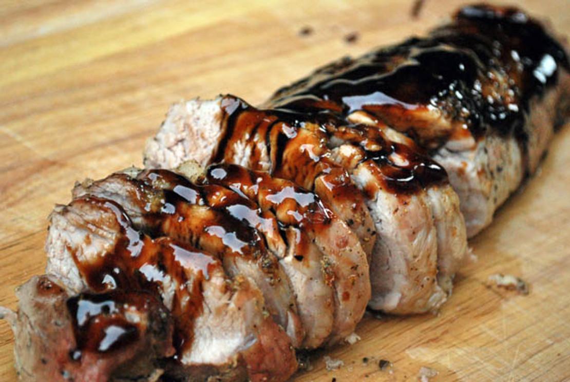 Balsamic Glaze for Pork Loin