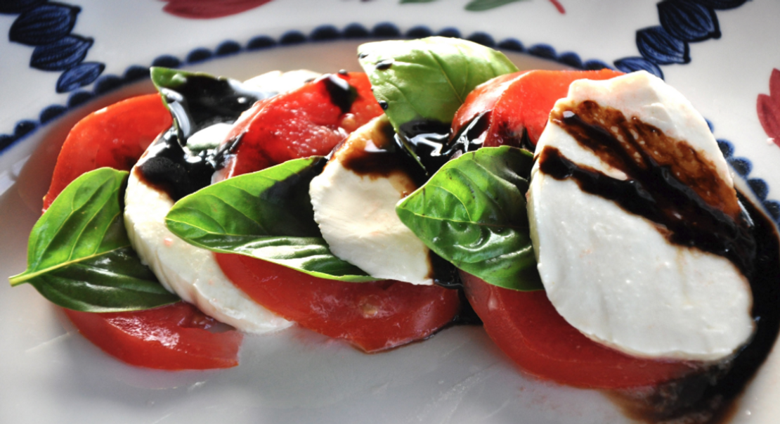 Caprese with Honey Balsamic Vinaigrette