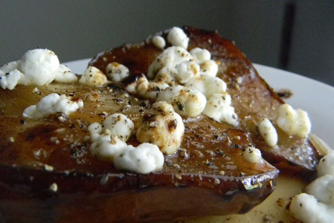 Balsamic Roasted Pears with Honey