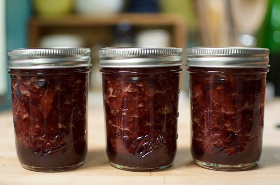 ​Strawberry Balsamic Jam
