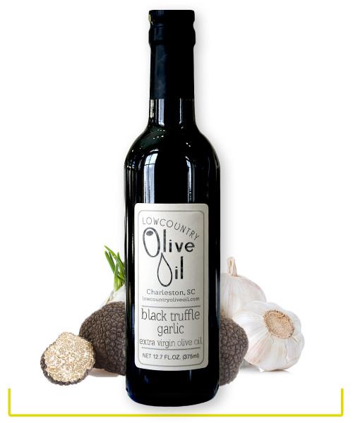 Black Truffle Garlic Oil
