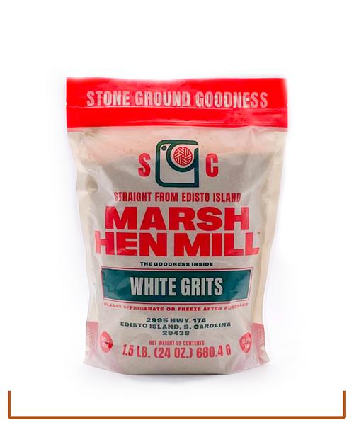 Marsh Hen Mill (formerly Geechie Boy) WHITE Stone Ground Grits