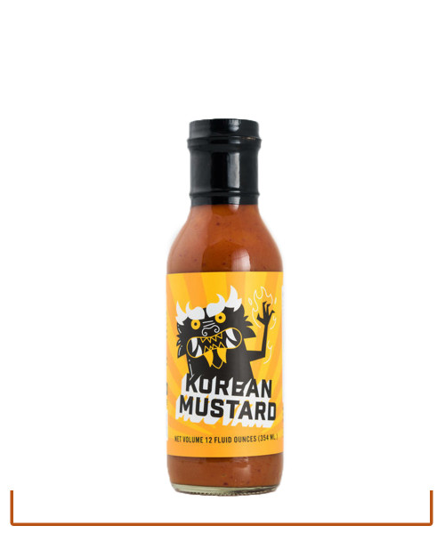 Burnt and Salty Korean Mustard  (Made in SC)