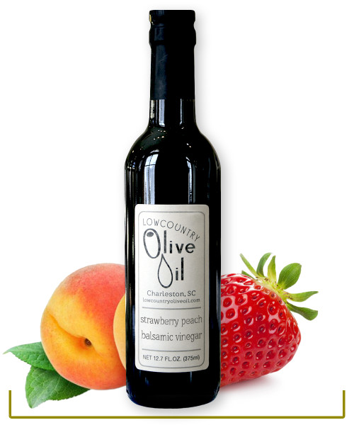 Strawberry Peach Balsamic Vinegar