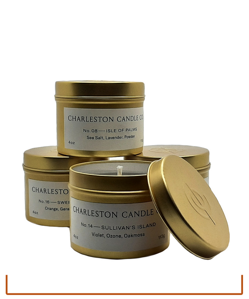 Charleston Candle Co. Candle Tins