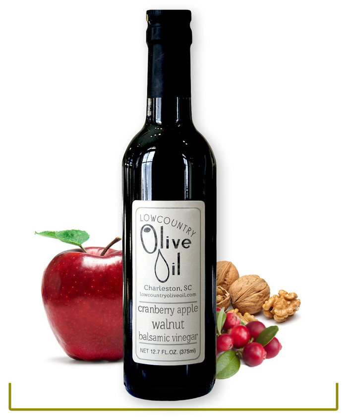 Cranberry Apple Walnut Balsamic Vinegar