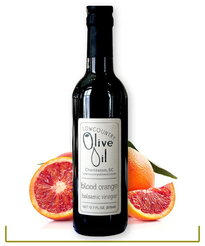 Blood Orange Infused  Dark Balsamic Vinegar