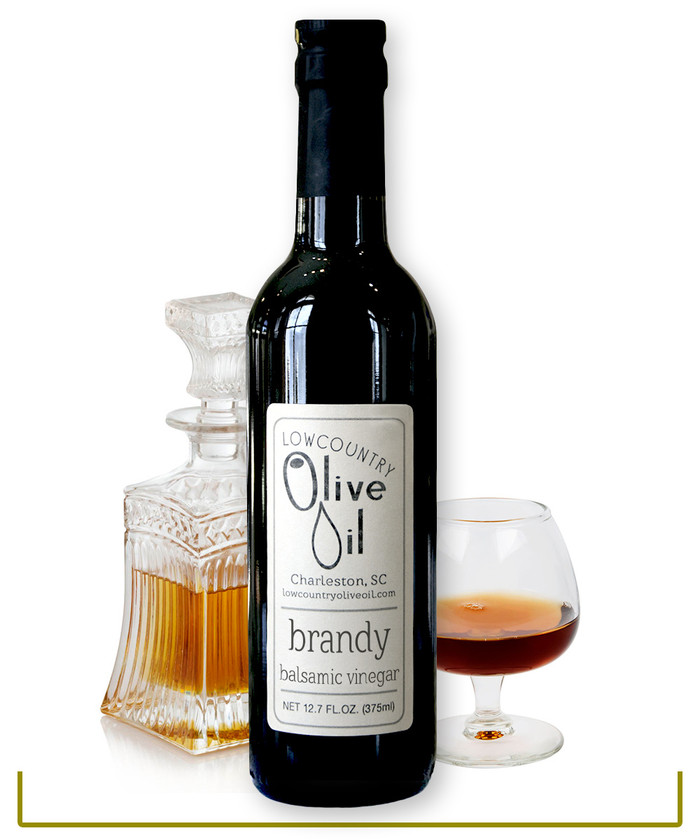 Brandy Infused White Balsamic Vinegar