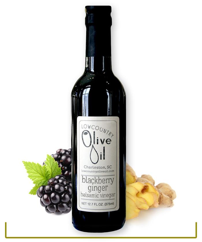 Blackberry Ginger Dark Balsamic Vinegar