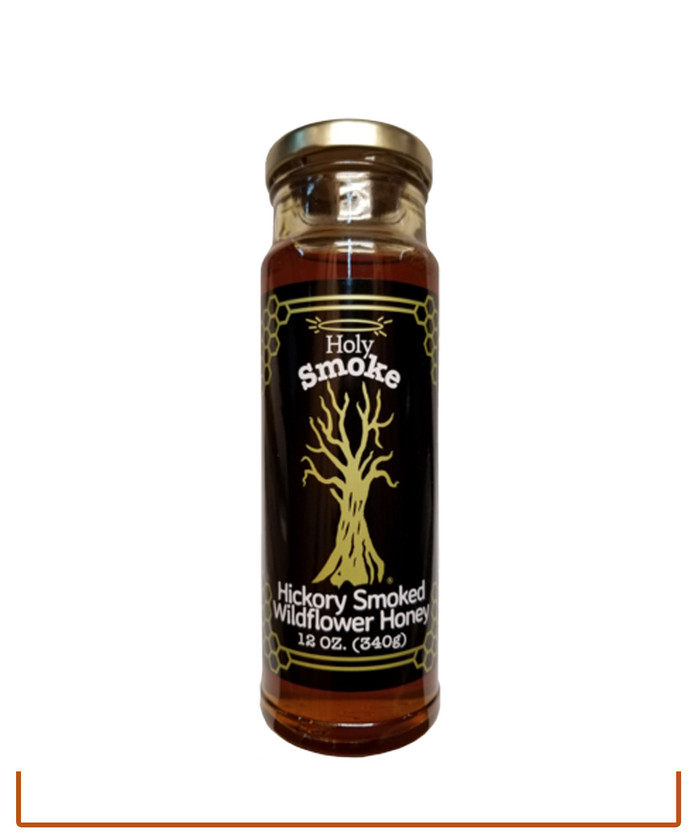 Holy Smoke Hickory Smoked Carolina Wildflower Honey