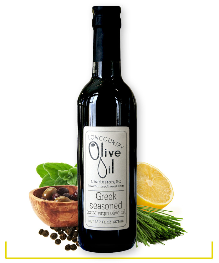 Greek Seasoned Olive Oil