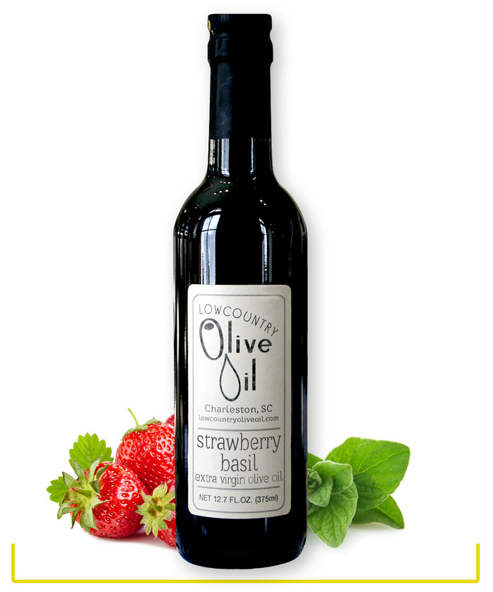 Strawberry Basil Olive Oil