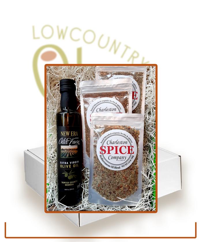 Georgia Olive Oil & Spices Gift Set