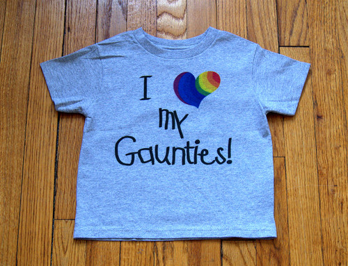 AWESOME t-shirt for your gaunties outings!