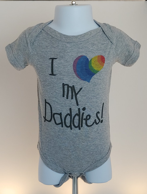 Cutest little lovebug one-piece for the new Dads!