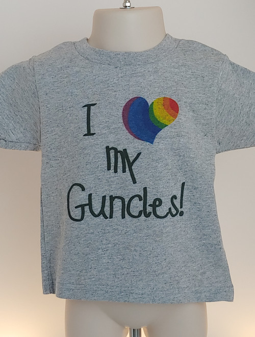 perfect PRIDE tShirt to go with your GUNCLE to the parade!