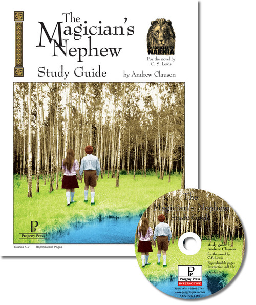 The Magician's Nephew unit study guide for literature, from a Christian perspective