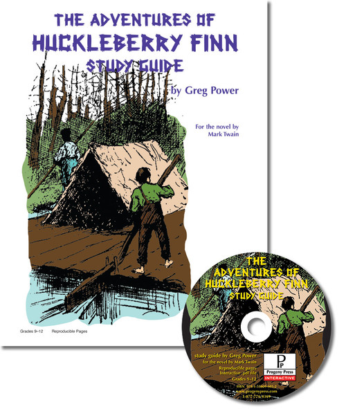 The Adventures of Huckleberry Finn unit study guide for literature, from a Christian perspective