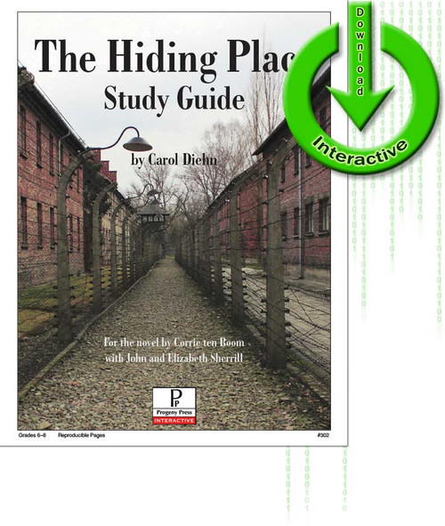 Hiding Place unit study guide for literature, from a Christian perspective
