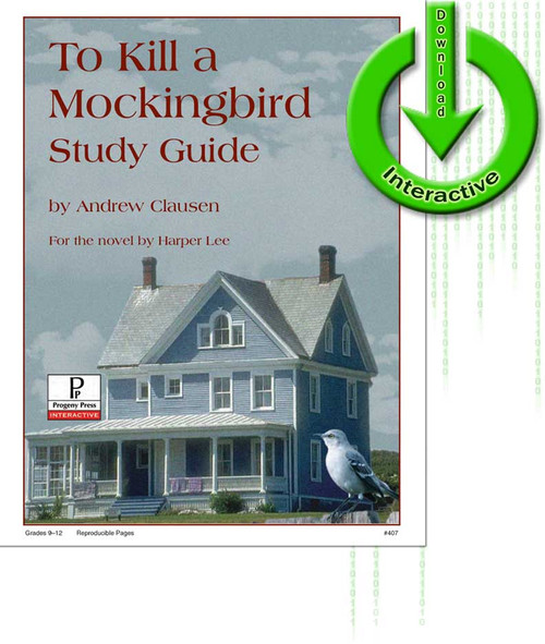 To Kill a Mockingbird by Harper Lee, unit study guide lesson plans for literature and reading from a Christian worldview with Biblical integration. Teacher resource curriculum, hands on ideas, projects, worksheets, comprehension questions, and activities.