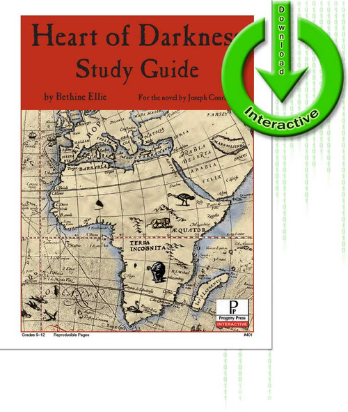 Heart of Darkness  unit study guide lesson plans for literature and reading from a Christian worldview with Biblical integration. Teacher resource curriculum, hands on ideas, projects, worksheets, comprehension questions, and activities.