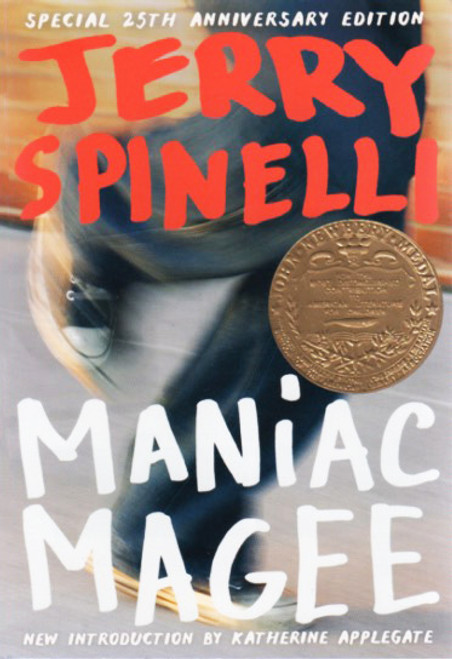 Maniac Magee story book novel