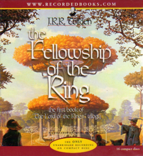 The Lord of the Rings: The Fellowship of the Ring by Tolkien, Audio Book, Recorded Books