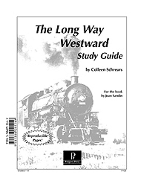 The Long Way Westward unit study guide lesson plans for literature and reading from a Christian worldview with Biblical integration. Teacher resource curriculum, hands on ideas, projects, worksheets, comprehension questions, and activities.