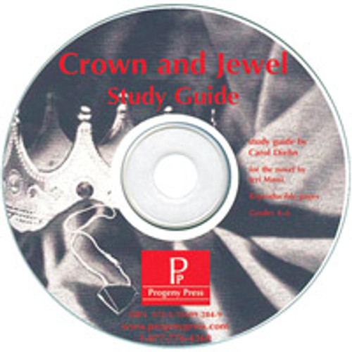 Crown and Jewel Progeny Press unit study guide lesson plans for literature and reading from a Christian perspective