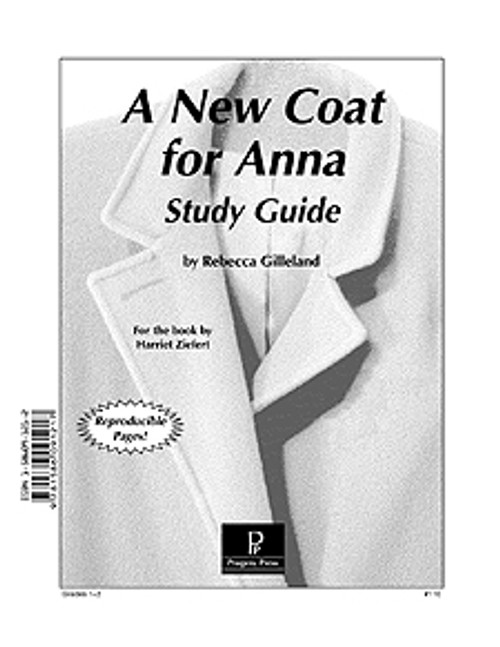 A New Coat for Anna Progeny Press unit study guide lesson plans for literature and reading from a Christian worldview with Biblical integration