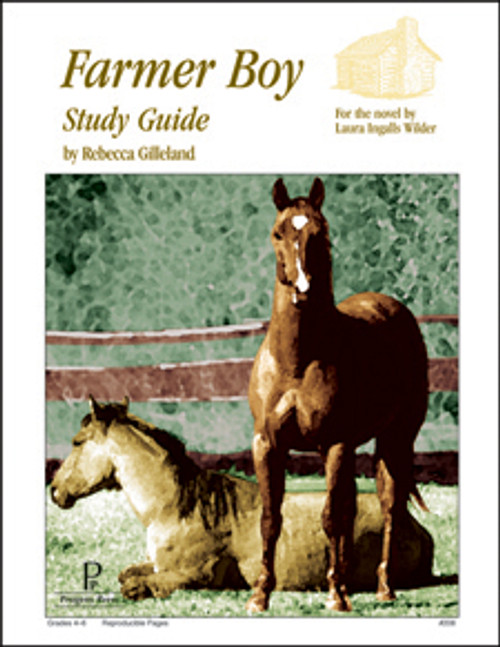 Farmer Boy Progeny Press unit study guide lesson plans for literature and reading from a Christian worldview with Biblical integration
