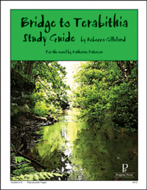 Bridge to Terabithia Progeny Press unit study guide lesson plans for literature and reading from a Christian worldview with Biblical integration