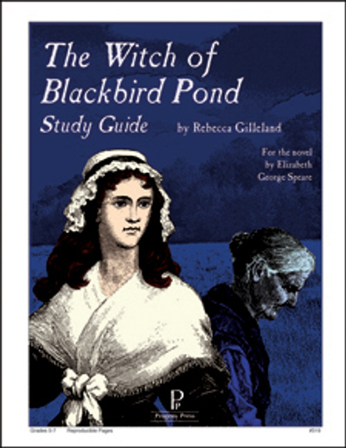 Witch of Blackbird Pond Progeny Press unit study guide lesson plans for literature and reading from a Christian worldview with Biblical integration