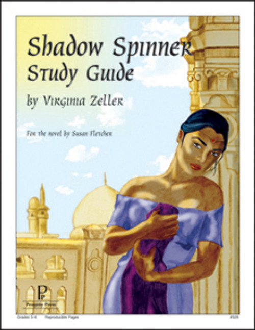 Shadow Spinner Progeny Press unit study guide lesson plans for literature and reading from a Christian worldview with Biblical integration