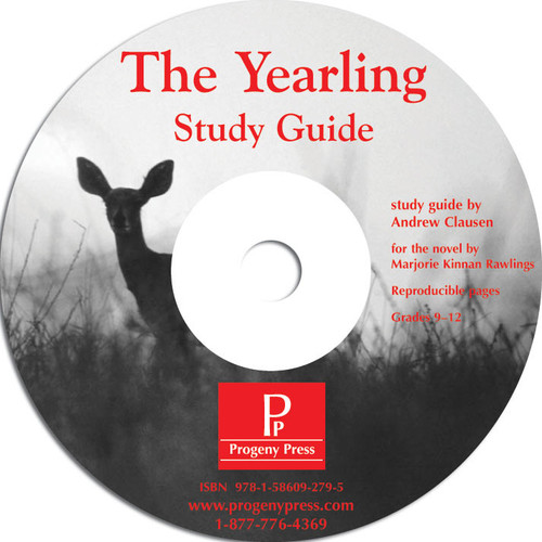 The Yearling by Marjorie Kinnan Rawlings, unit study guide lesson plans for literature and reading from a Christian worldview with Biblical integration. Teacher resource curriculum, hands on ideas, projects, worksheets, comprehension questions, and activities.