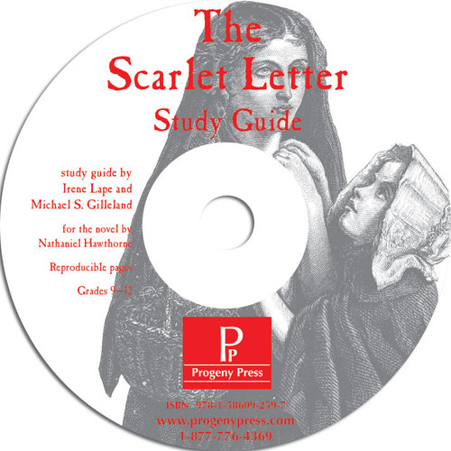Scarlet Letter Progeny Press unit study guide lesson plans for literature and reading from a Christian worldview with Biblical integration