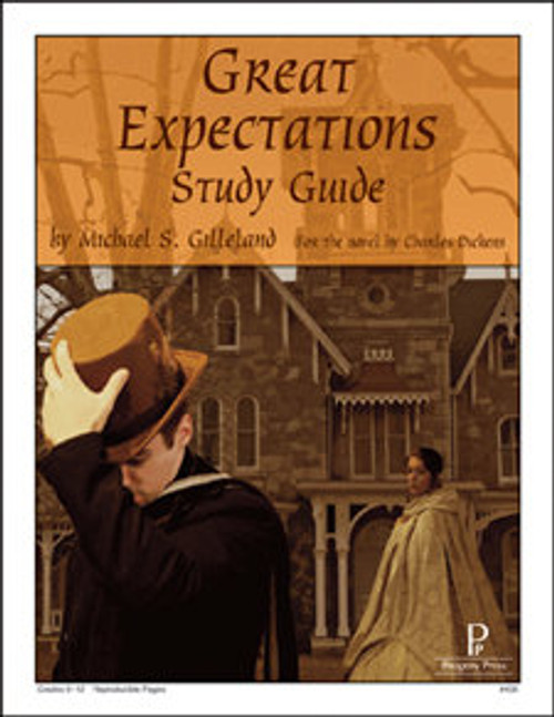 Great Expectations Progeny Press unit study guide lesson plans for literature and reading from a Christian worldview with Biblical integration