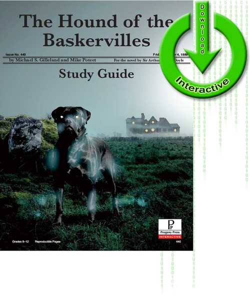 Sherlock Holmes: The Hound of the Baskervilles by Sir Arthur Conan Doyle, unit study guide lesson plans for literature and reading from a Christian worldview with Biblical integration. Teacher resource curriculum, hands on ideas, projects, worksheets, comprehension questions, and activities.