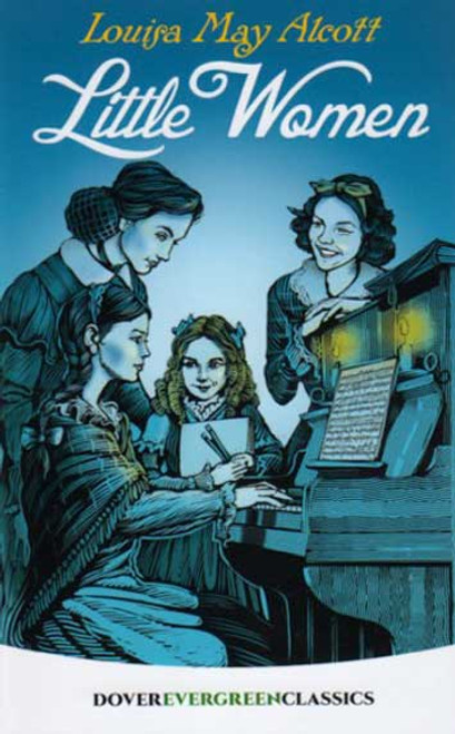 Little Women by Louisa May Alcott, novel book Dover Publications