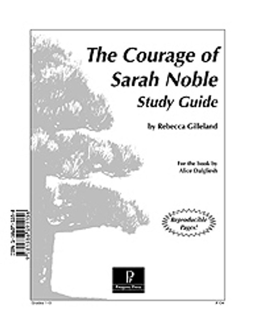 Courage of Sarah Noble Progeny Press Guide