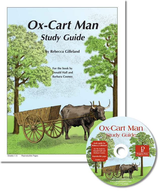 Ox-Cart Man unit study guide for literature, from a Christian perspective
