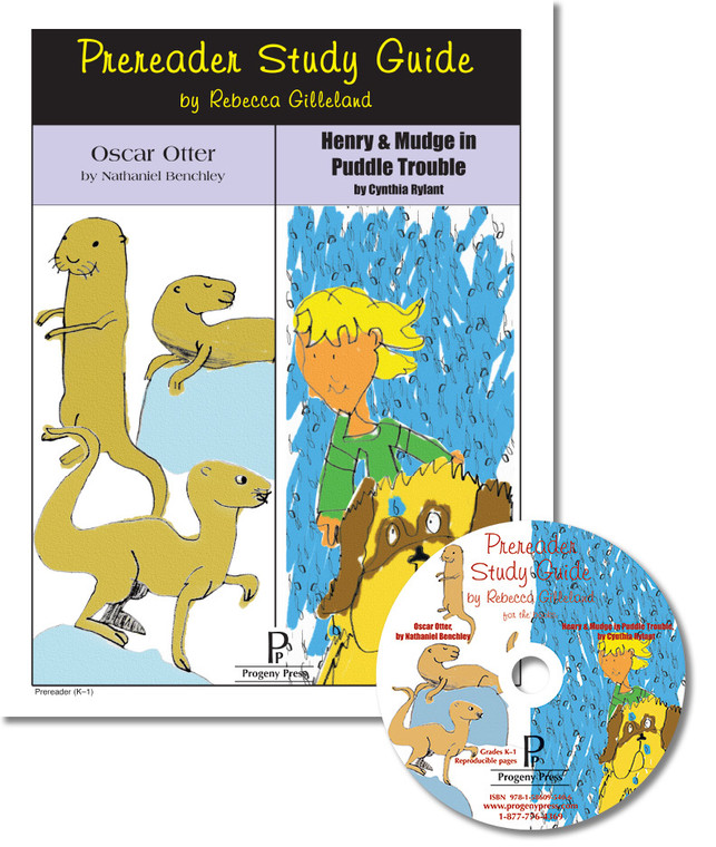 Prereader study guide: Oscar Otter and Henry & Mudge in Puddle Trouble Unit study guide for literature, from a Christian Perspective