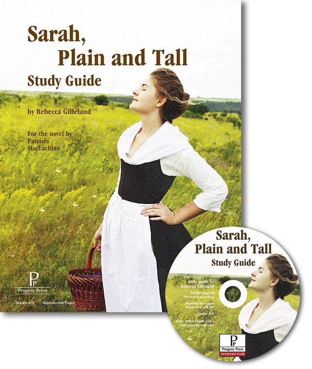 Sarah, Plain and Tall unit study guide for literature, from a Christian perspective