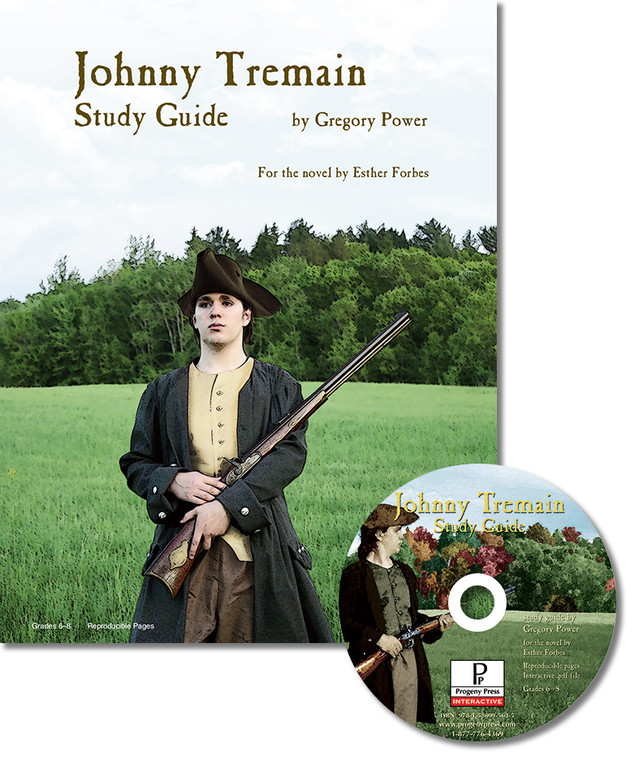 Johnny Tremain unit study guide for literature, from a Christian perspective