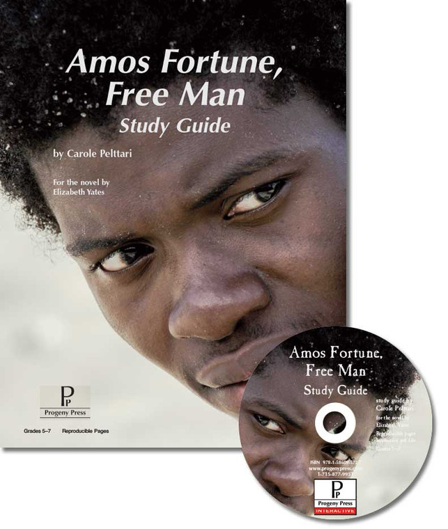 Amos Fortune, Free Man unit study guide for literature, from a Christian perspective